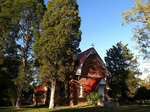 Our country church, the future home of our parish