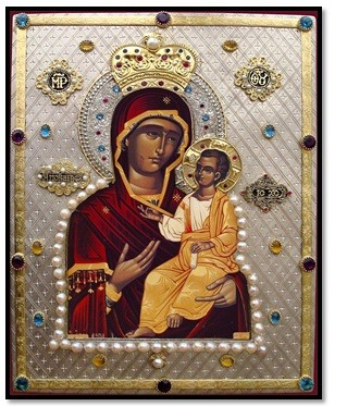 The Mother of God Megalochari (Great Grace)