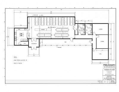 Parish Hall Floor Plan
